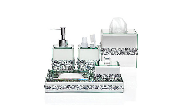 black mosaic bathroom accessories. Ricci Vanity Collection 15 Trendy Modern Bathroom Accessories Set  Home Design Lover