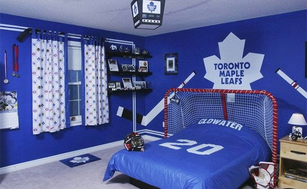Sports Bedroom design