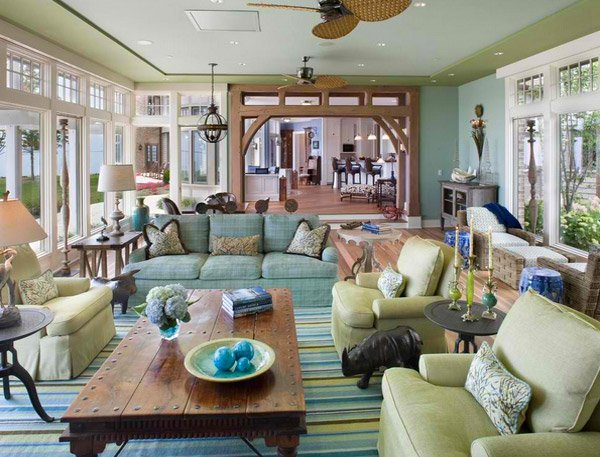 15 Traditional Tropical Living Room Designs Home Design Lover