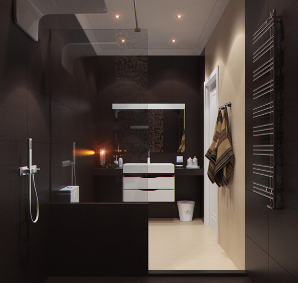 Modern Homes Modern Bathrooms Designs Ideas: 20 Contemporary Bathroom Design Ideas