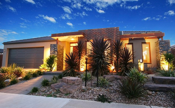 modern desert front yard email save photo desert themed landscaping network - Modern Front Yard Garden Ideas