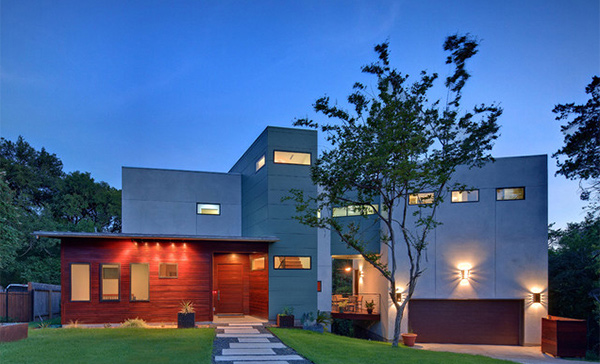 15 Geometric Modern Home Designs Home Design Lover