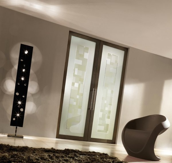 15 modern interior glass door designs for inspiration - Contemporary glass doors interior ...