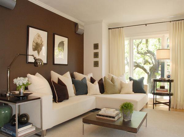 beige walls