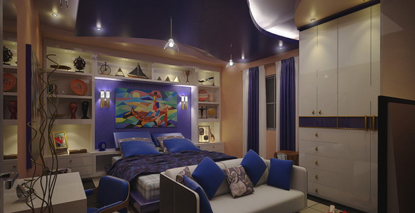 Modern Bedroom Lounge