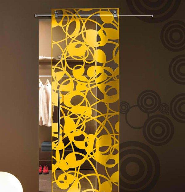 15 modern interior glass door designs for inspiration for Glass interior design