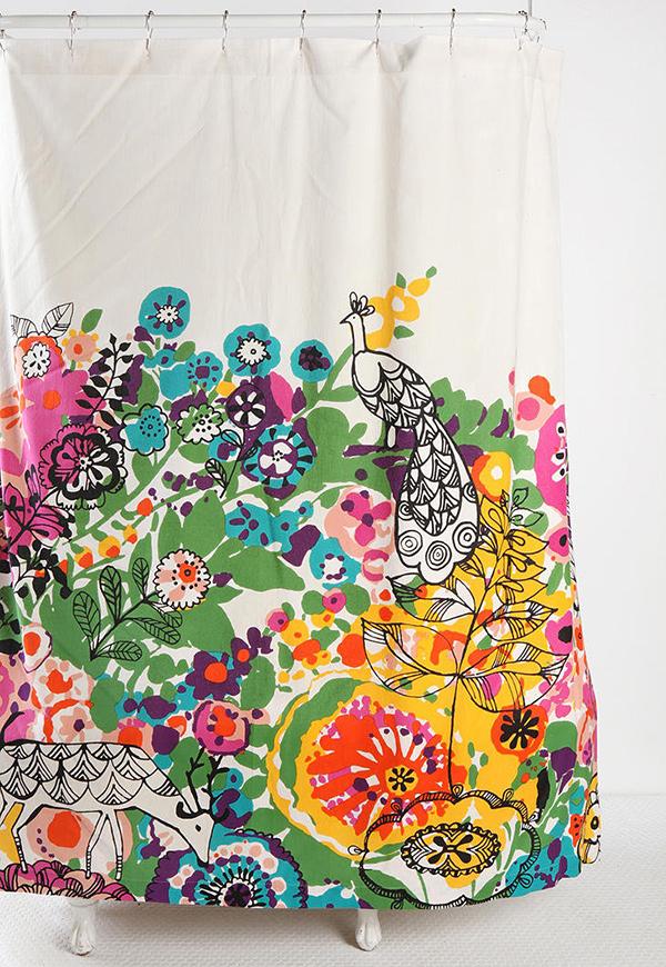 Woodland Garden Curtain Idea