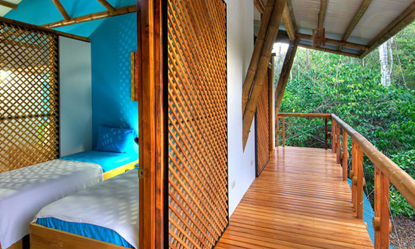 bamboo bedroom terrace