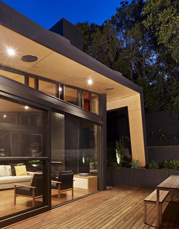 Deck area