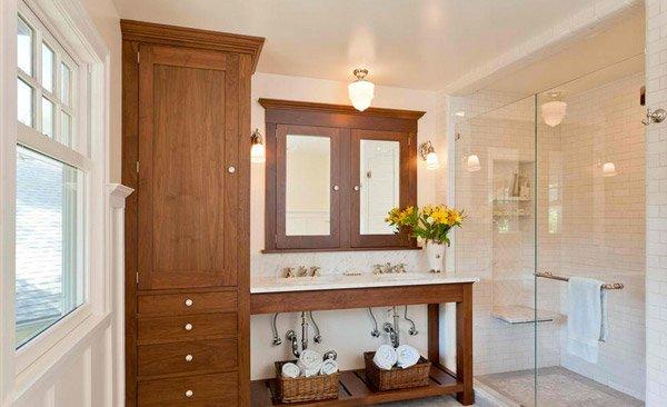 bathroom cabinet design