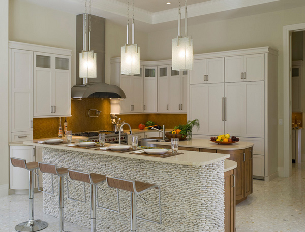kitchen lighting island 15 distinct kitchen island lighting ideas home design lover 9681