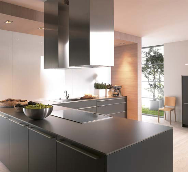 Black Kitchen Appliances With White Cabinets