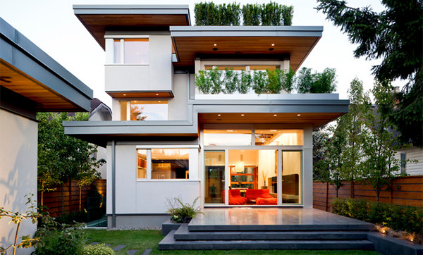 48 Geometric Modern Home Designs Home Design Lover Awesome Modern Exterior Home Plans