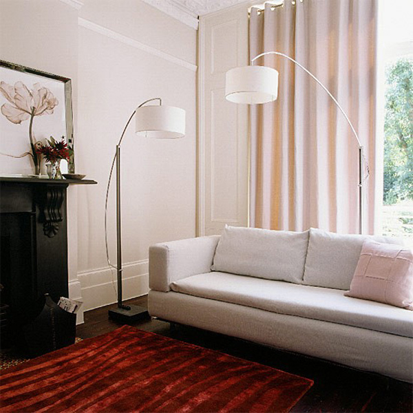 Some Useful Lighting Ideas For Living Room: 15 Pretty Living Room Lamps
