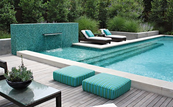 hardwood swimming pool decks