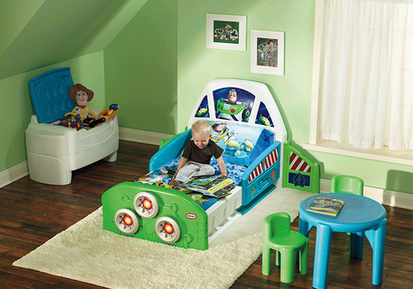Rocket Toddler Bed 15 transportation themed toddler beds | home design lover