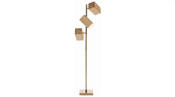 18 gold floor lamp design ideas home design lover elissa mozeypictures Image collections