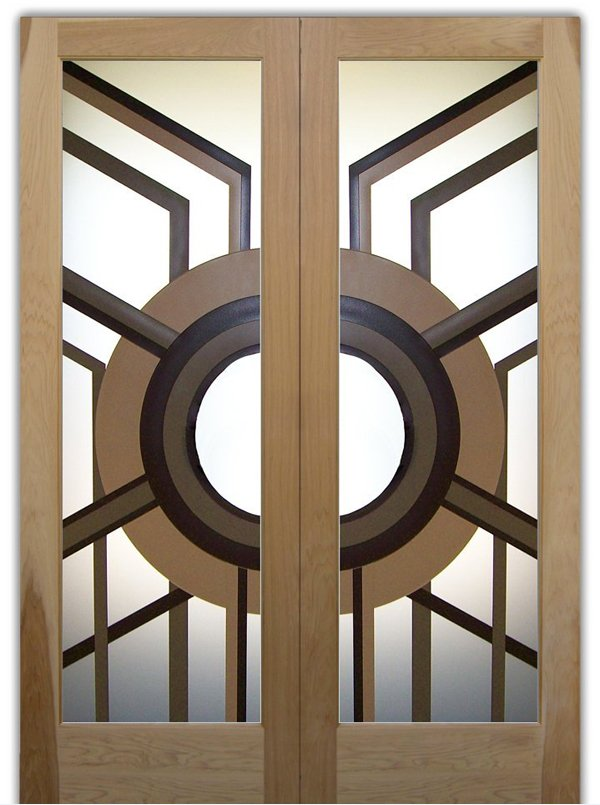 custom-made glass door