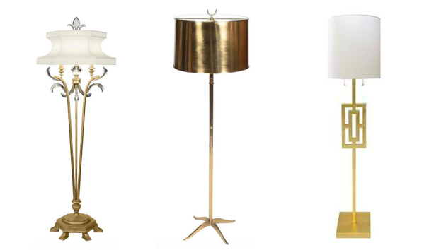 18 Gold Floor Lamp Design Ideas Home Design Lover