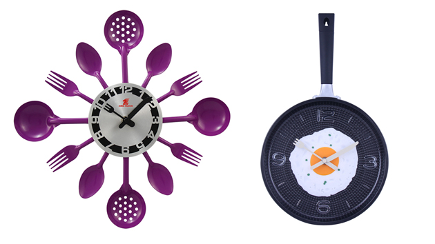 15 Excellent Designs Of Kitchen Wall Clocks