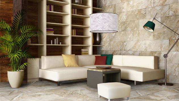 Modern Living Room Tile Flooring 15 classy living room floor tiles | home design lover