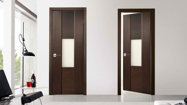 15 wooden panel door designs home design lover for Modern single door designs for houses