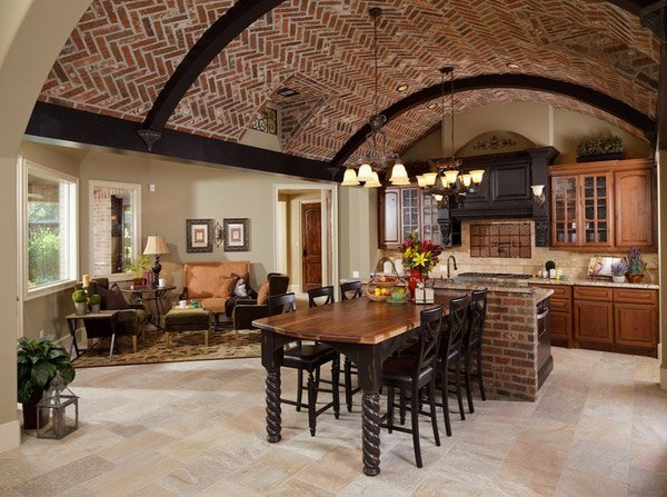 15 lovely built in kitchen tables home design lover