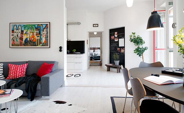 Alvhem creates a dreamy apartment interior in gothenburg sweden