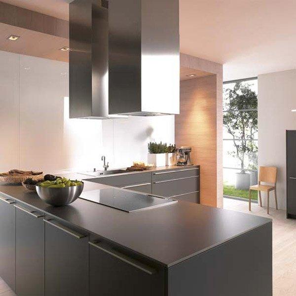 matt black cabinets