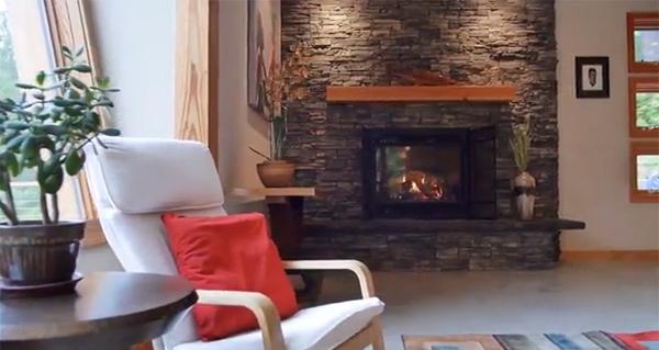 Eldorado Stone Fireplace