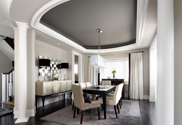 Contemporary Dining Room Toronto