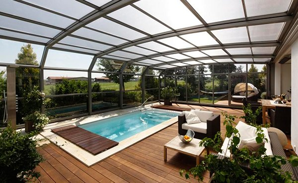 15 Stylish Pool Enclosure For Year Round Pool Usage Home Design Lover