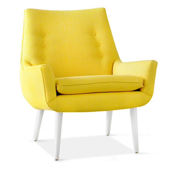 15 modern armchair designs for combined comfort and style for Designer armchairs