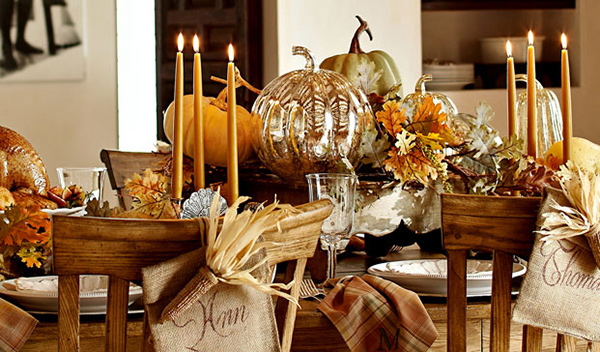 Thanksgiving Pumpkin Setup