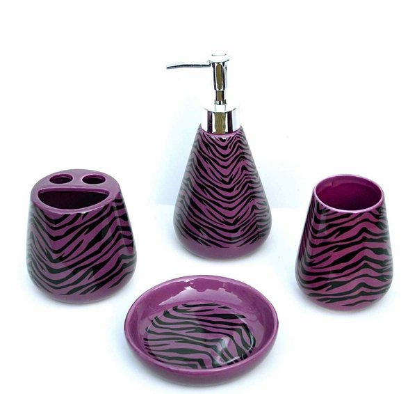 4 Piece Bathroom Ceramic