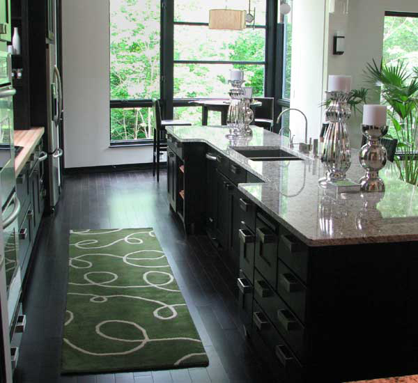 Kitchen Area Rug. Email; Save Photo. Dark Colored Wood