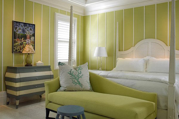 15 Bedrooms of Lime Green Accents | Home Design Lover