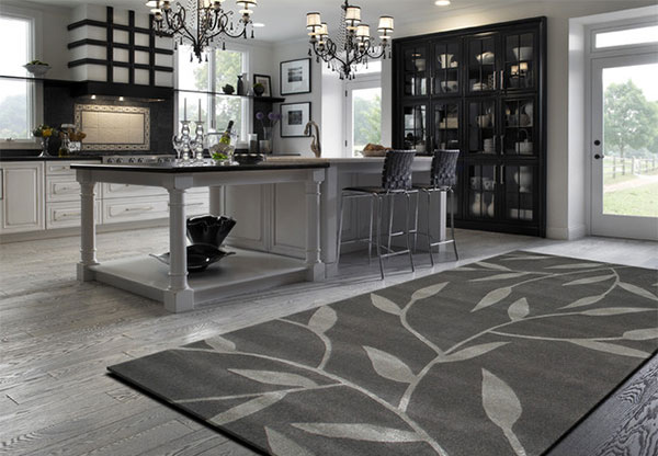 New 15 Area Rug Designs in Kitchens | Home Design Lover PR18