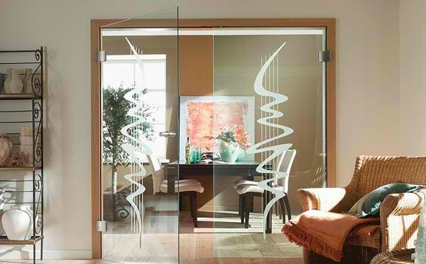 clear glass Internal Doors
