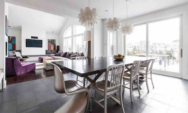 Be Amazed With These 15 Modern Luxurious Dining Rooms | Home Design ...