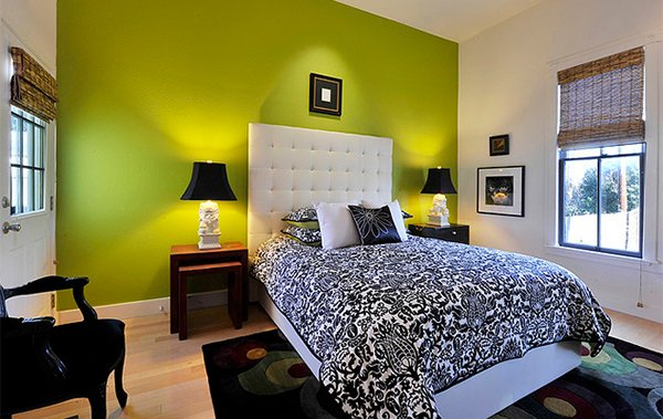 15 bedrooms of lime green accents home design lover 19064 | 3 artfully arranged
