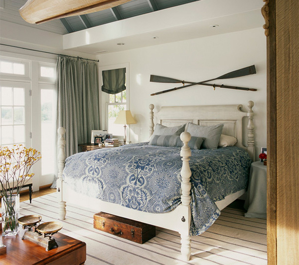 coastal bedroom ideas sail on with 15 nautical themed bedrooms home design lover 11147