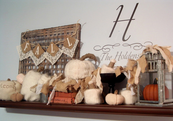 Fall Mantle Holloween