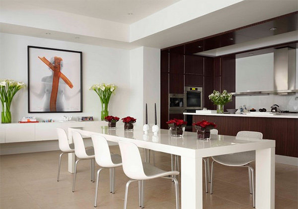 Be Amazed With These 15 Modern Luxurious Dining Rooms Home Design Lover