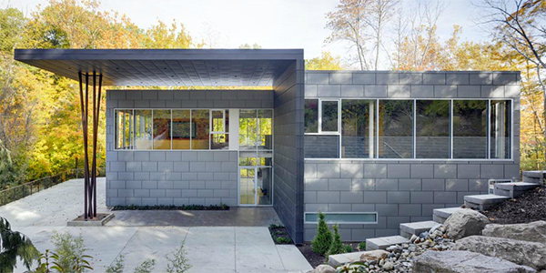 gray exterior design