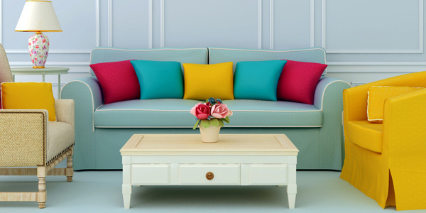 Mix and match furniture