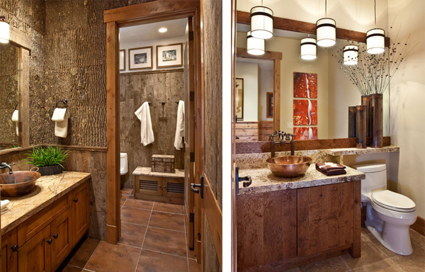 rustic bathrooms designs 15 bathroom designs of rustic elegance home design lover 14305
