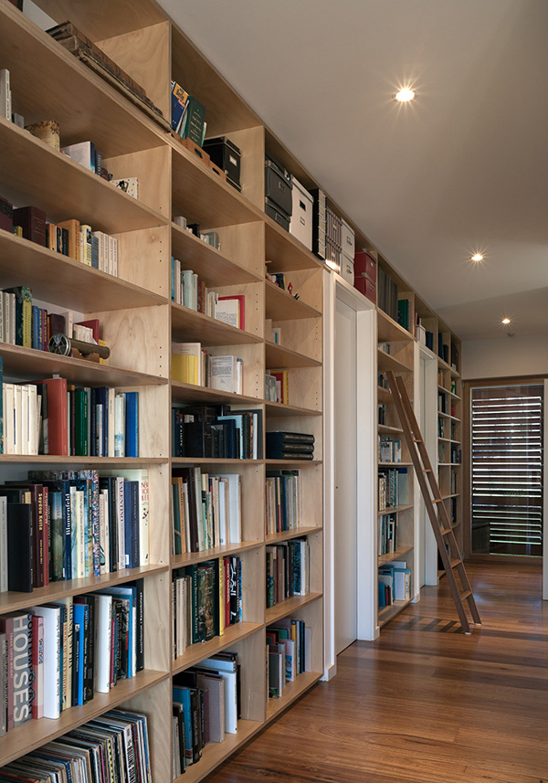 Olkd Study Room: Modern House In Greenwich Replaces Old Forties Home