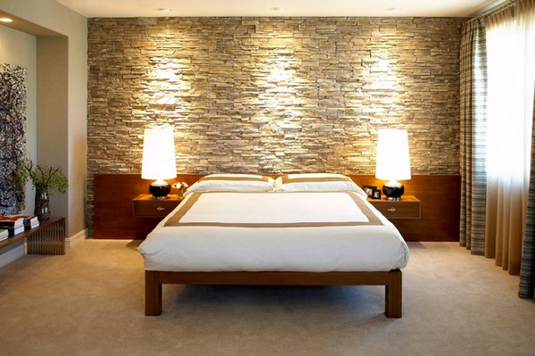 15 Unique and Interesting Bedroom Walls | Home Design Lover