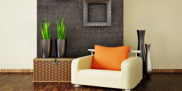 Unite home interior's look with colors
